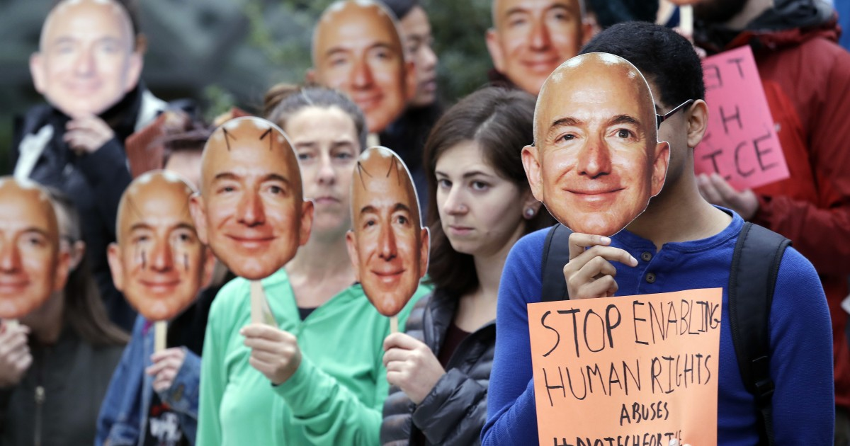 Amazon pauses police use of its facial recognition software
