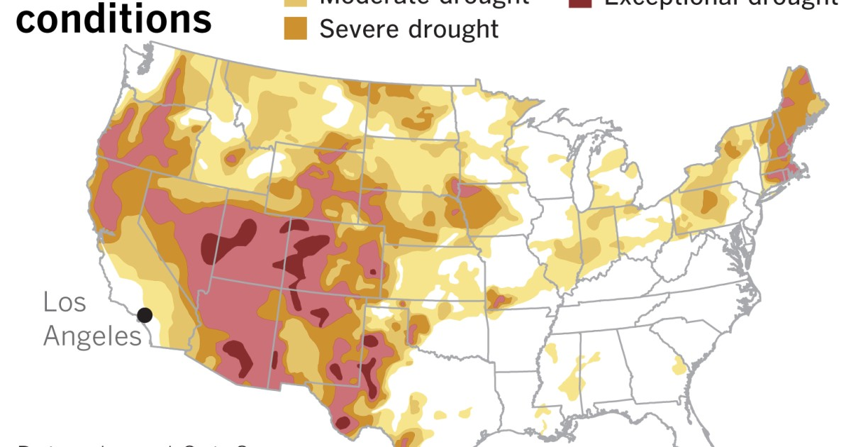 La Niña may signal scant relief from California's seemingly endless loop of hot, dry weather