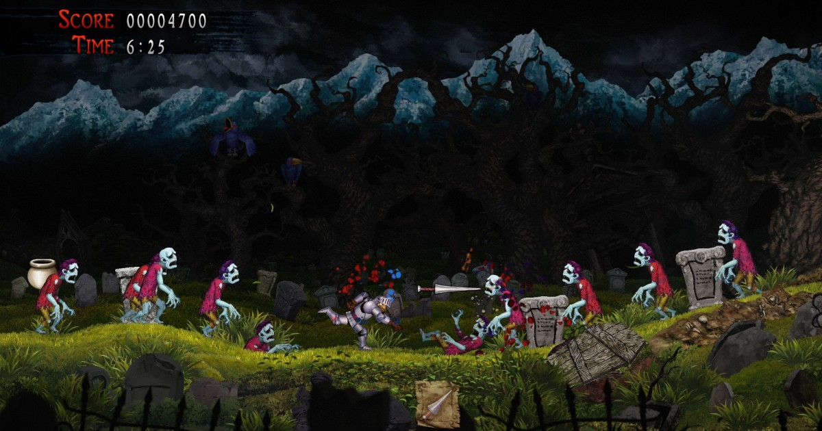 Games: 'Ghosts 'n Goblins' updates all but the sexist tropes