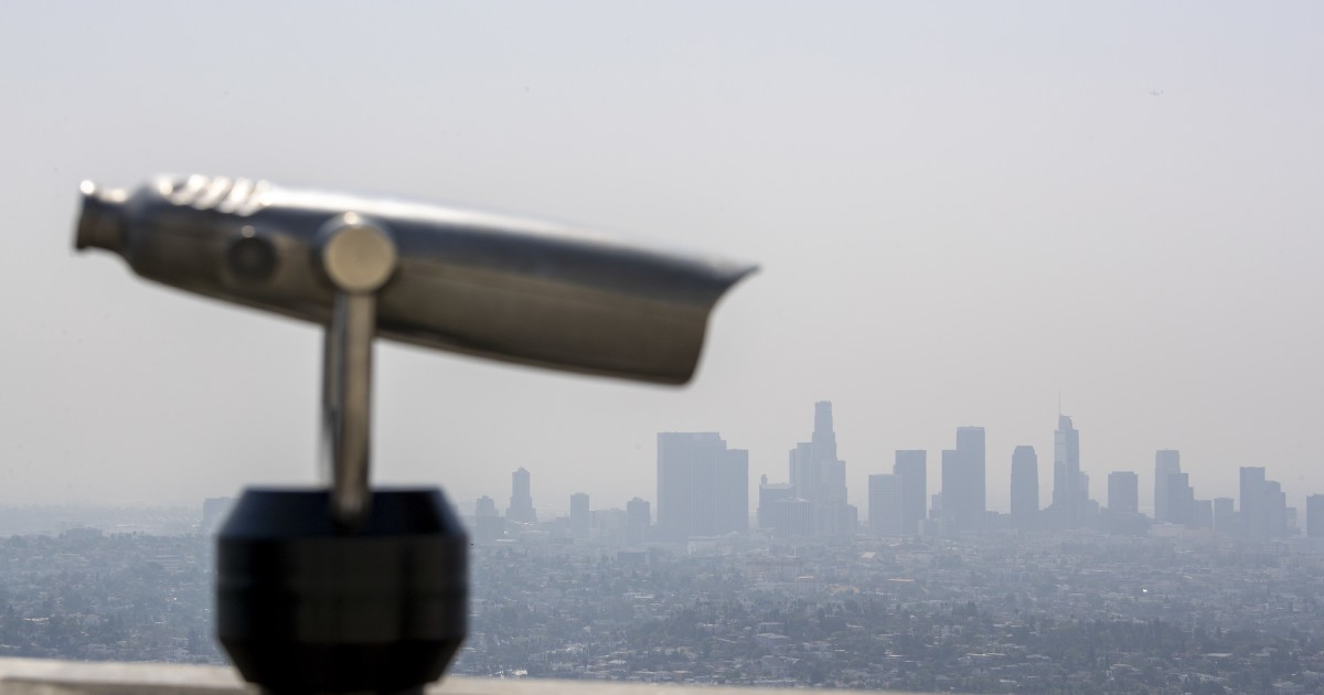 Smoke from Northern California wildfires moves toward L.A.