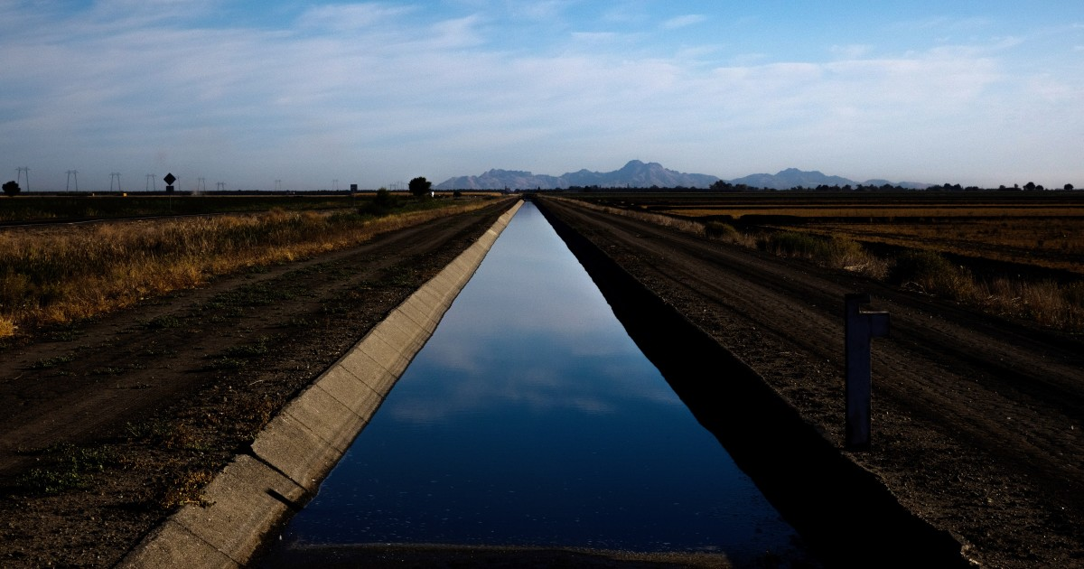 California faces water issues amid drought, climate change
